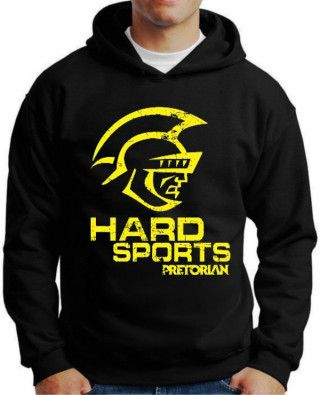 Moletom Hard Sports Pretorian