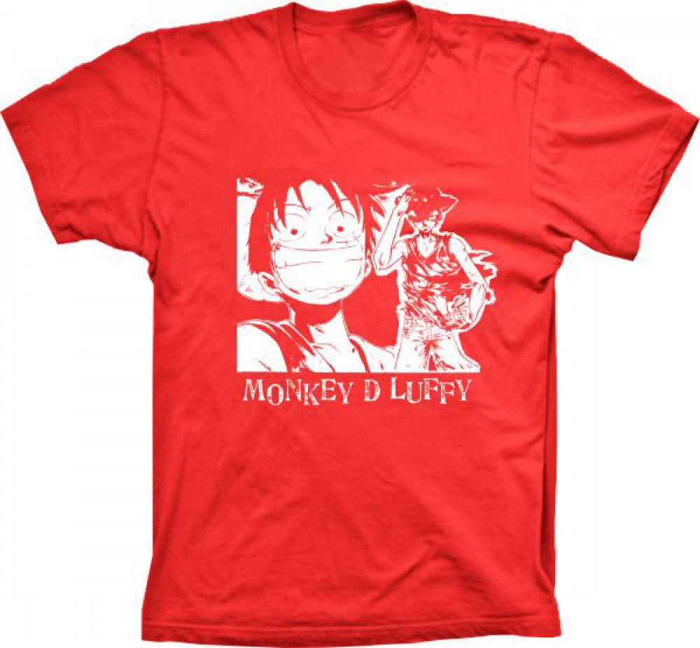 Camiseta Monkey D Luffy