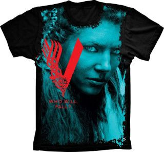 Camiseta Vikings who will fall