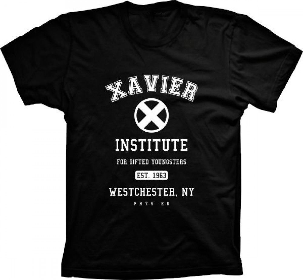 Camiseta Xavier Institute X-Men