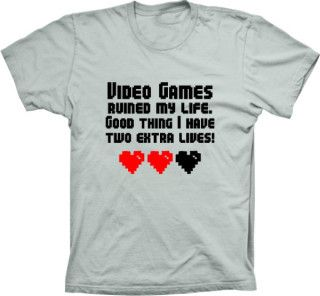 Camiseta Video Games Ruined My Life