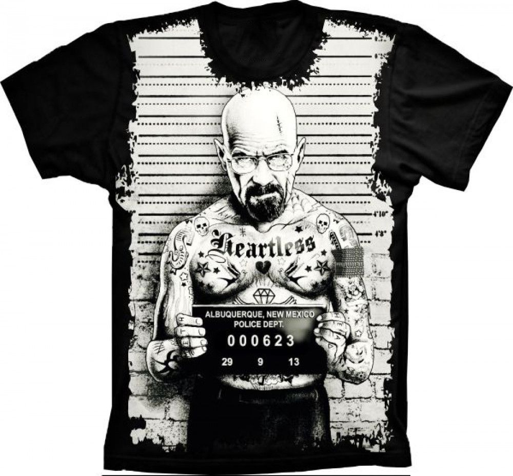Camiseta Breaking Bad Heisenberg Badass