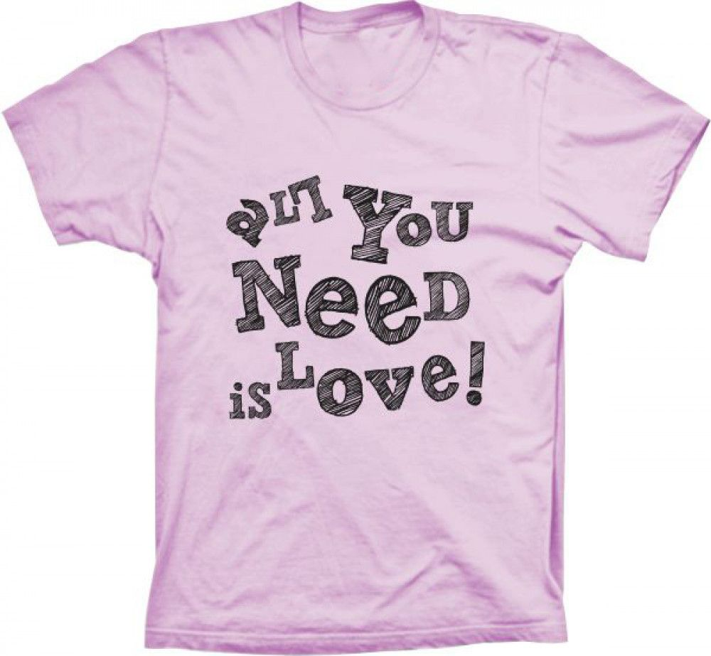 Camiseta All You Need is Love