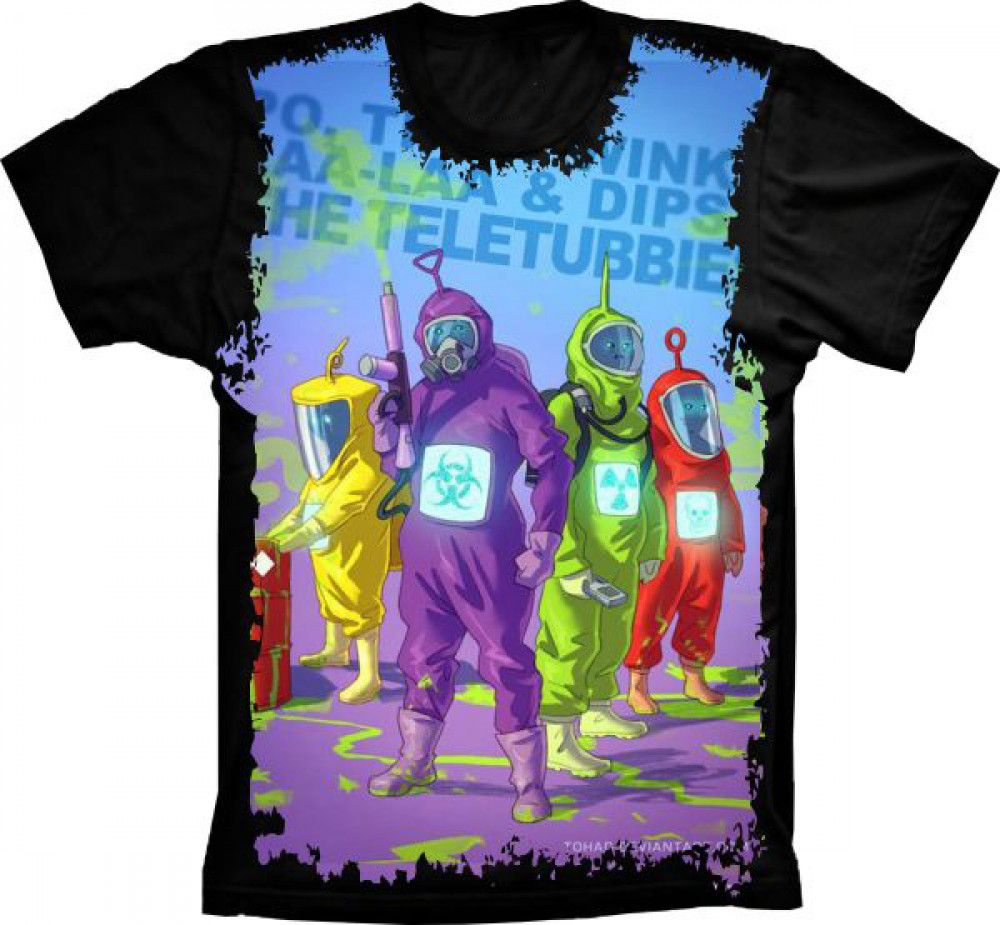 Camiseta Teletubbies