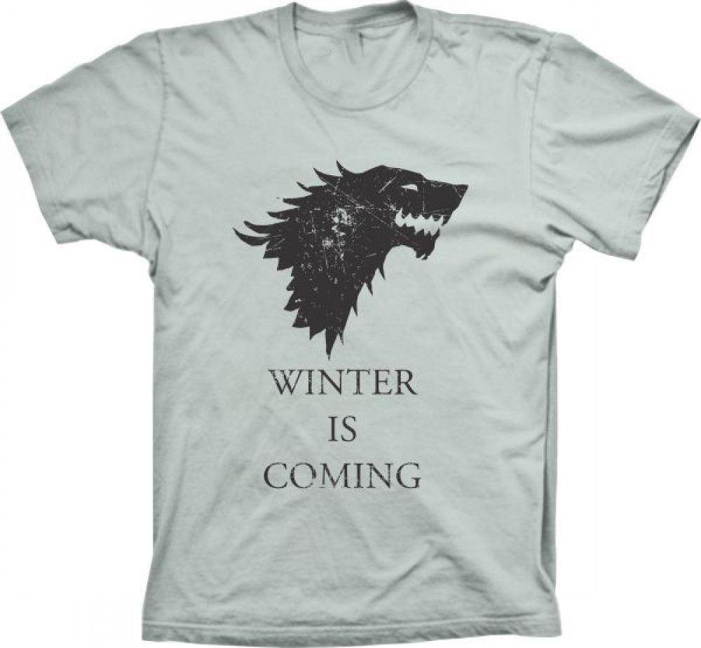 Camiseta Game Of Thrones Casa Stark Winter Is Coming