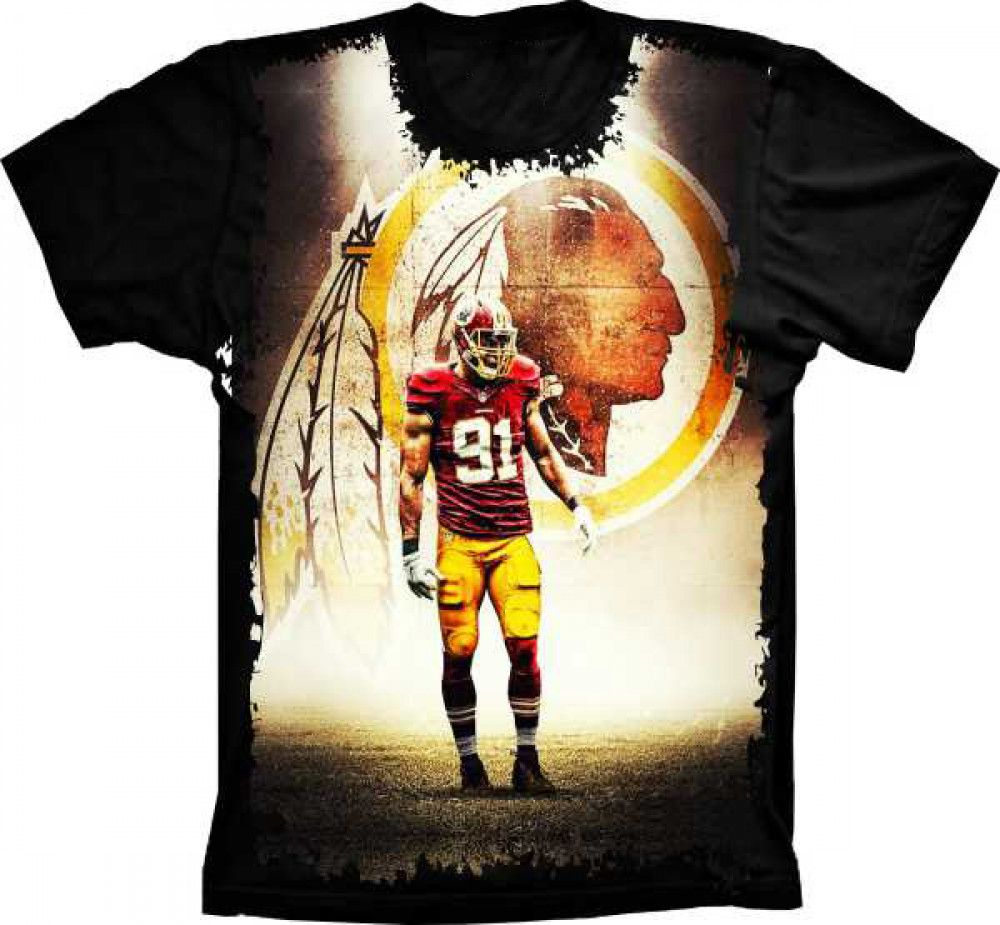 Camiseta Washington Redskins