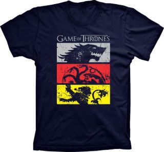 Camiseta Game Of Thrones Casas