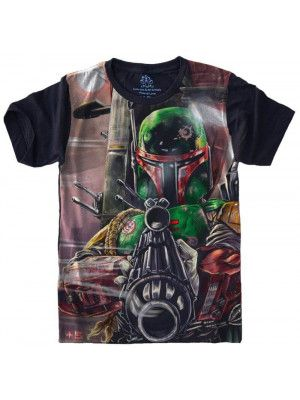 Camiseta Star Wars Boba Fett S-442