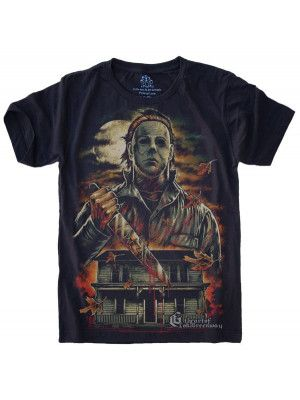Camiseta Michael Myers Halloween S-526