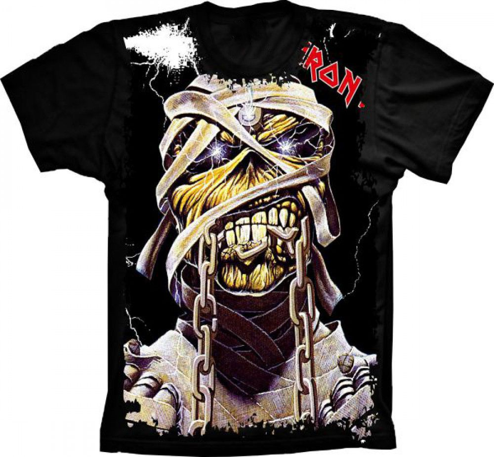 93112baa4904a Camiseta Iron Maiden Rock In Rio 85