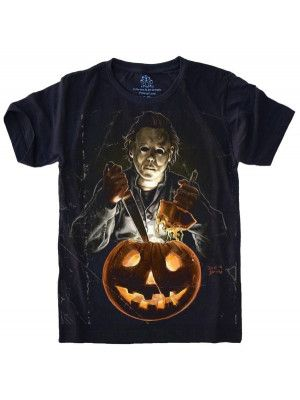 Camiseta Michael Myers Halloween S-527