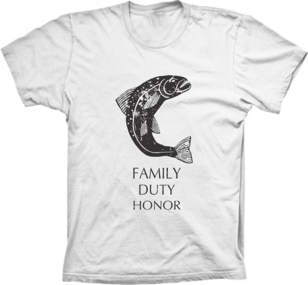 Camiseta Game Of Thrones Family Duty Honor