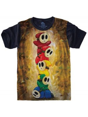 Camiseta Super Mario Guys S-529
