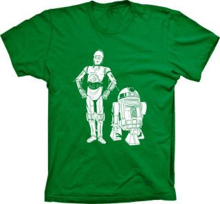 Camiseta Star Wars C3PO R2D2