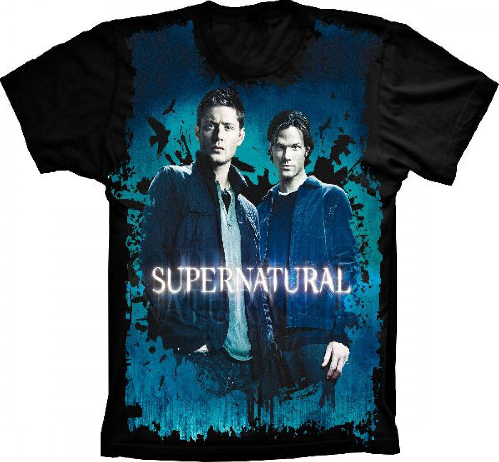 Camiseta Supernatural Dean e Sam