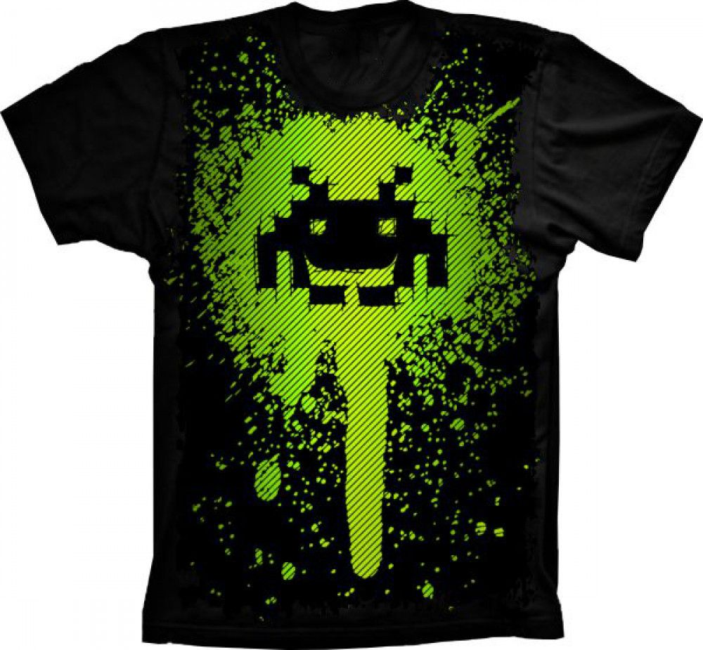 Camiseta Space Invaders