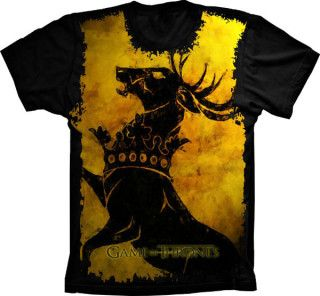 Camiseta Game Of Thrones Casa Westeros