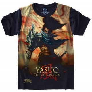 Camiseta YASUO League of Legends S-480