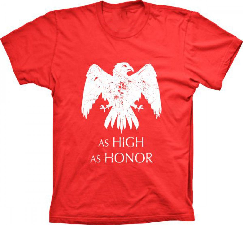 Camiseta Game Of Thrones As High As Honor