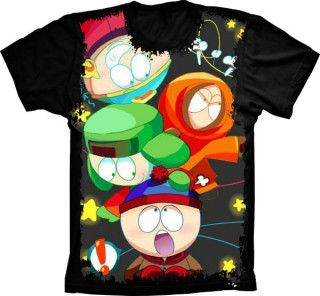 Camiseta South Park Turma