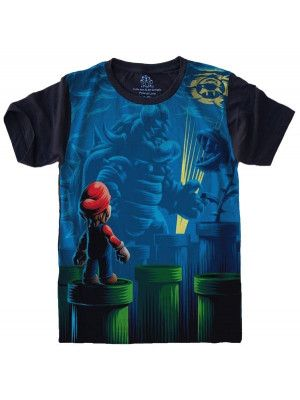 Camiseta Super Mario Bros S-522