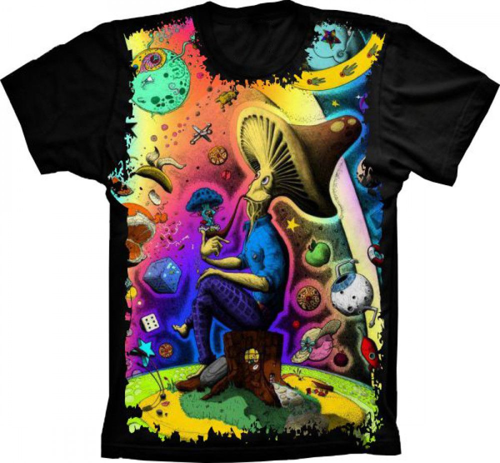 Camiseta Mushrooms Crazy