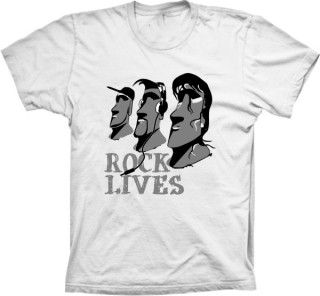 Camiseta Rock Lives