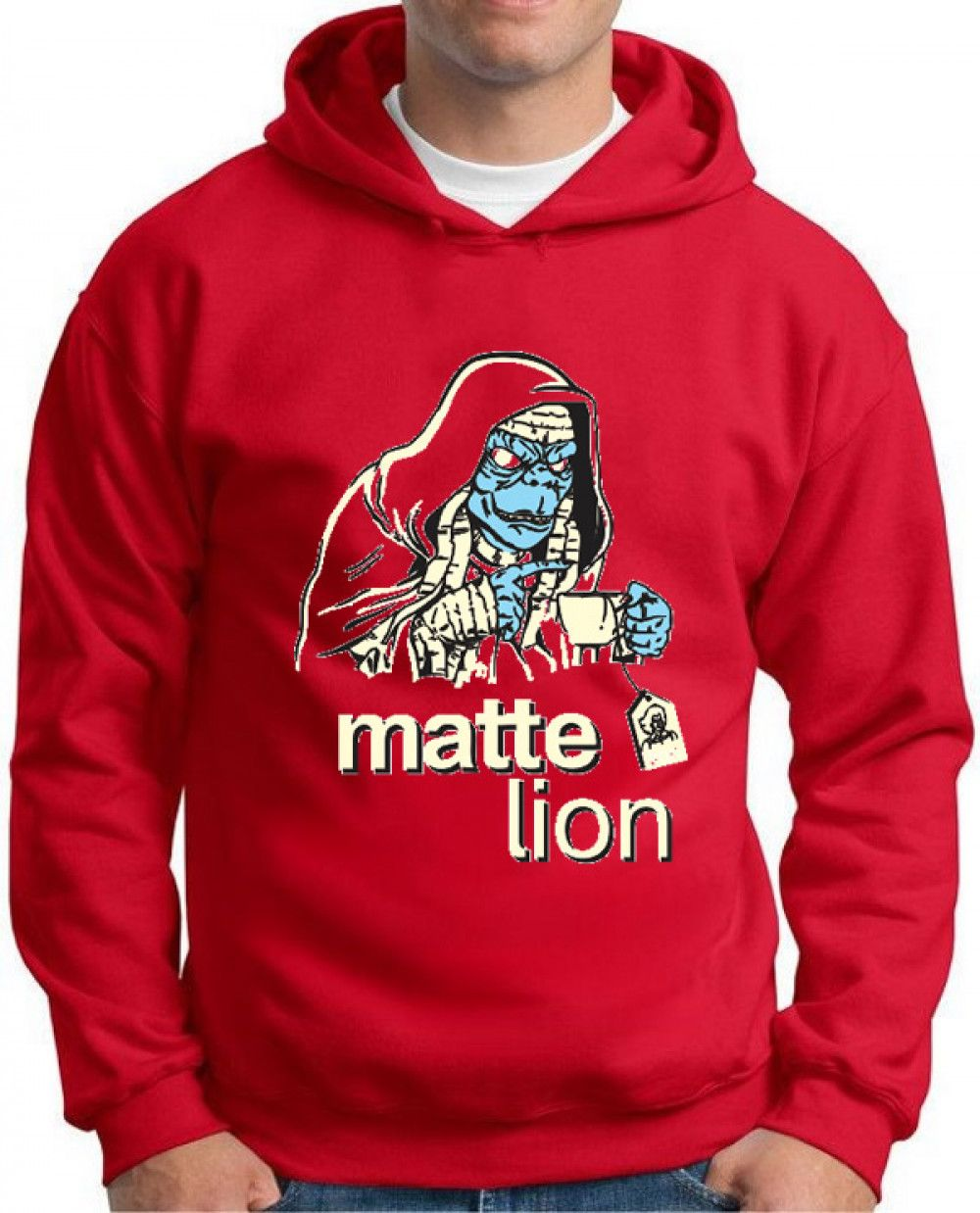Moletom Matte Lion