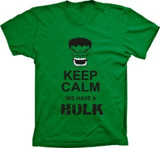 Camiseta Keep Calm We Have A Hulk
