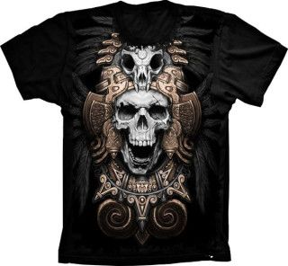Camiseta Skull Caveira Indian