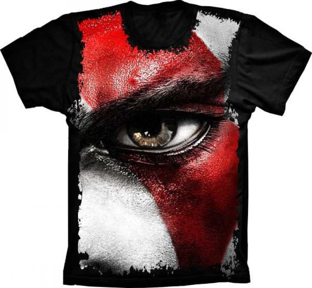 Camiseta God Of War Olho