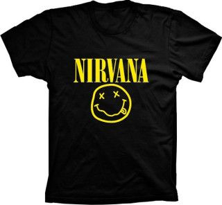 Camiseta Nirvana Smile
