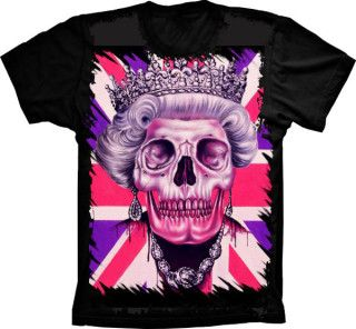 Camiseta Skull The Queen