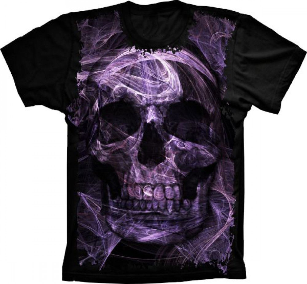 Camiseta Skull Illusion