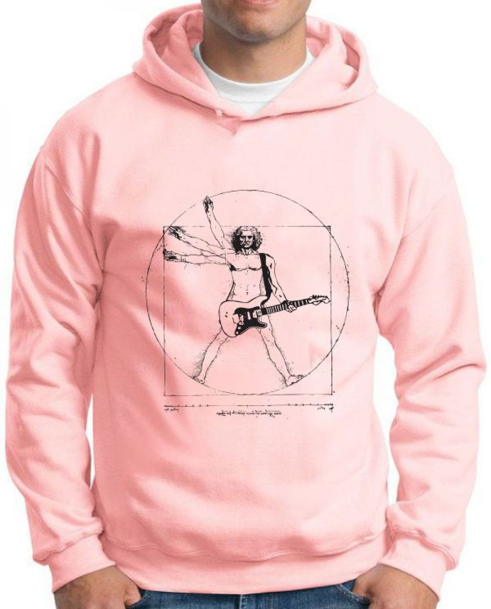 Moletom Vitruvian Rock