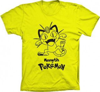 Camiseta Pokemon Meowth