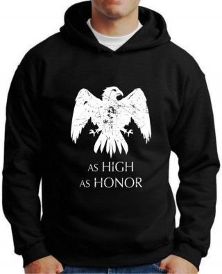 Moletom Game Of Thrones As High As Honor