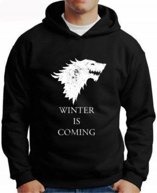 Moletom Game Of Thrones Winter Is Coming