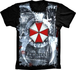 Camiseta Resident Evil Umbrella Corporation