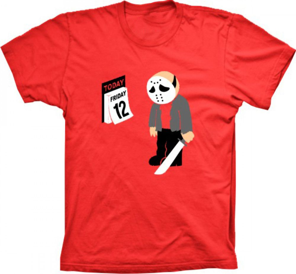 Camiseta Jason Friday 12
