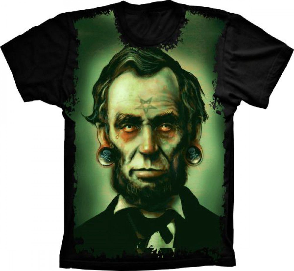 Camiseta Abraham Lincoln