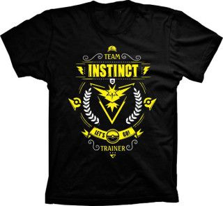 Camiseta Pokémon Go Team Instinct